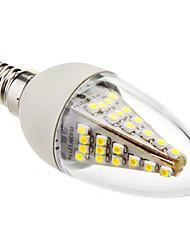 e14 führte kerzenlichter c35 48 smd 5050 230lm kaltweiß 6000 karat dekorative ac 220-240 v