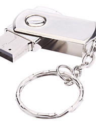 16GB Rotate Metal Material Mini USB Flash Pen Drive
