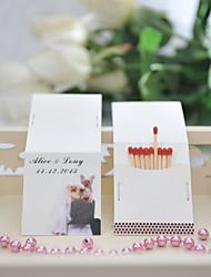 Недорогие -персонализированная спичечная коробка бумага для жестких карт свадебная вечеринка классическая тема