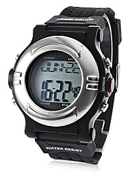 cheap -Unisex Heart Rate Monitor Calorie Counter Style Silicone Digital Automatic Wrist Watch (Black) Cool Watch Unique Watch Fashion Watch