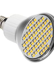 Недорогие -SENCART 1шт 5 W 240 lm E26 / E27 Точечное LED освещение 60 Светодиодные бусины SMD 3528 Тёплый белый 85-265 V