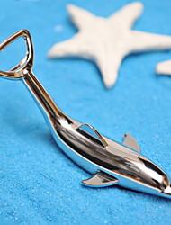 Недорогие -Дельфин образный из нержавеющей стали бутылки открывалка