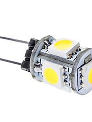 cheap -G4 5 SMD 5050 75 LM Natural White LED Corn Lights DC 12 V