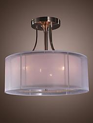 povoljno -QINGMING® Flush Mount Ambient Light - Mini Style, Bubanj Modern / Comtemporary, 110-120V 220-240V Bulb not included
