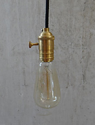 cheap -Max 60W Traditional/Classic / Vintage Bulb Included Brass Pendant Lights Bedroom / Dining Room / Hallway