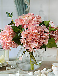 Baroque Hydrangea Artificial Flowers Home Decoration Wedding Supply