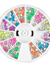12 Farbe Rivet Mini Nail Art Dekoration