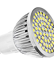 GU10 LED Spotlight MR16 60 SMD 3528 240lm Natural White 6500K AC 110-130 AC 220-240V
