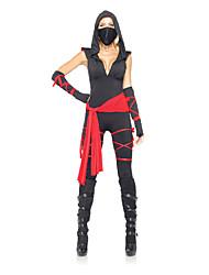 economico -Ninja Costumi Cosplay Vestito da Serata Elegante Per donna Halloween Carnevale Feste / vacanze Costumi Halloween Collage