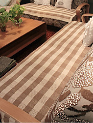Cotton Herringbone Lace Sofa Cushion Mats 70*210