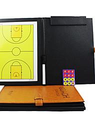 スポーツインドア磁気折りたたみバスケットボールコーチングボード(2Pens +ボード消しゴム+マグネット)