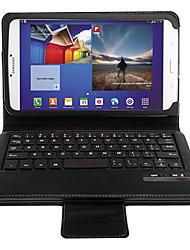baratos -High-end Caso de teclado sem fio Bluetooth para Samsung Galaxy Tab 8.0 3 T3100