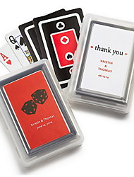 Personalized Playing Card Favors