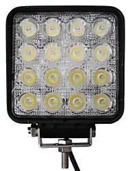 cheap -48W 16 LEDs Square Work Light