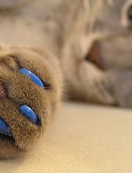 Недорогие -Кошка Уход Медобеспечение Насадки на когти Красный Зеленый Синий Розовый Охотничий зеленый