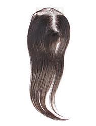 """12 """"100% dei capelli umani neri diritta serica di estensione dei capelli"""