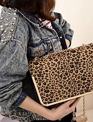 Fashion Leopard catena Crossbody Bag