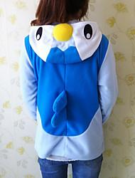 Kigurumi Pyjamas Pingvin Kostume Polarfleece Kigurumi Trikot / Heldragtskostumer Cosplay Festival / Højtider Nattøj Med Dyr Halloween