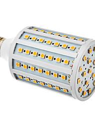 20W E26/E27 LED Corn Lights T 102 leds SMD 5050 600-630lm Warm White 3000 AC 220-240