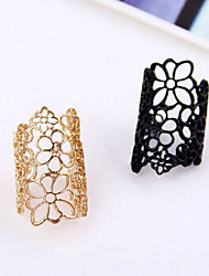 cheap -Women's Statement Rings Adjustable Open European Costume Jewelry Lace Alloy Jewelry For Party Casual