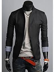 Недорогие -Мужчины лацкане костюма Одноместный пиджаки Нижний