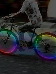 abordables -Éclairage pour roues de vélo Capots de feux clignotants LED Cyclisme Piles Lumens Batterie Cyclisme