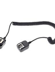 câble flash lampe de poche sb910 de SB900 de connexion pour appareil photo Nikon D7100 D5300 d3300 - noir (360cm)