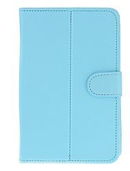 PU Læder Beskyttende Tablet Case (Pure Blå) for Eran Tablet PC