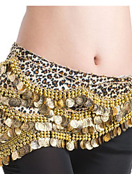 Belly Dance Belt Women's Polyester Coins Sequins