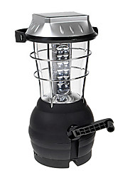 cheap -Super Bright Outdoor Solar Powered Hand Crank Camping Lantern with 36-LED and Handcrank Emergency Mode