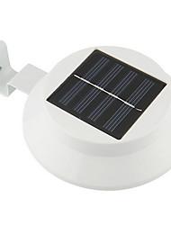 3-LED Solar Powered Fence Gutter Light Outdoor Garden Yard Wall Pathway Lamp