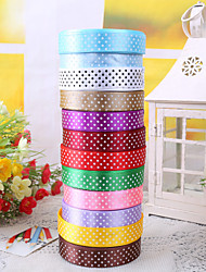 "3/4"" Polka Dot Ribbon Gift Package Decoration (More Colors)"