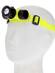 Kafa Lambaları Dalış Fenerleri Far LED 1000 lm 3 Kip Cree XM-L T6 Su Geçirmez için Günlük Kullanım Balıkçılık Araba Farları Su Sporları