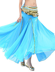 Belly Dance Skirts Women's Training Polyester