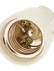 cheap -E27 Lighting Accessory Light Socket Ceramic