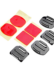 Adhesive Mounts Mount / Holder 147-Action Camera,Gopro 5 Gopro 3 Gopro 2 Universal Auto Military Snowmobiling Aviation Film and Music