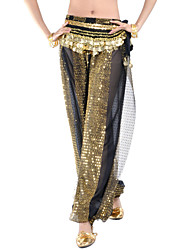 cheap -Dancewear Sequins Chiffon Belly Dance Bottom For Ladies(More Colors)without Belt