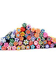 cheap -20 Other Decorations Fruit Fimo Polymer Nail Art Flower Cartoon Fashion Lovely High Quality Daily