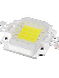 Недорогие -10w 9x интегрированный 700lm 10000k холодный белый светодиодный светодиодный чип (dc 9-11v)