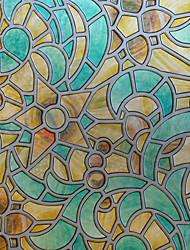 Geometrico Classico Pellicola per finestre,PVC / Vinile Materiale decorazione della finestra
