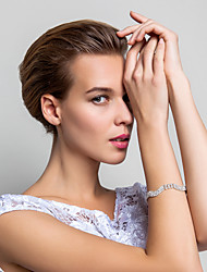 Elegante lega con strass Braccialetto delle donne (più colori)