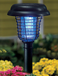 cheap -Solar UV Garden Yard LED Lamp Light Bug Zapper Pest Insect Mosquito Killer