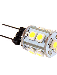 1W G4 LED a pannocchia T 10 leds SMD 2835 60-80lm Luce fredda 5500-6500 DC 12