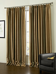 baratos -european dois painéis tarja cortinas de painel de poliéster amarelo sala de estar cortinas