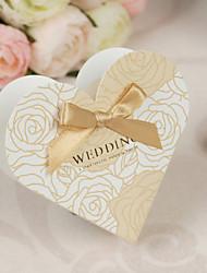 povoljno -Srce Kartica papira Pearl papira Naklonost Holder s Mašnica Milost Kutije