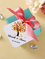 personalisierte Platz tags - fall (set of 36)