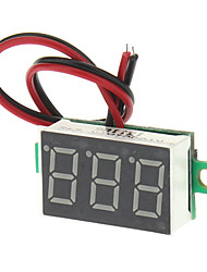 "cheap -V20D 0.56"" LED Two Line 3-Digital Direct-Current Voltmeter Meter Module - White + Green (DC 2.5~30V)"