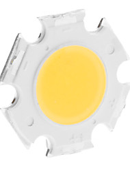 DIY 3W 250-300LM 300mA 3000K Warm White Light Integrated LED Module (9-11V)