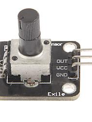 Недорогие -Электронные блоки поворотного потенциометра аналогового энкодер Ручка Модуль Модуль