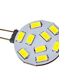 G4 Faretti LED 9 leds SMD 5730 120-150lm Luce fredda 6000-6500